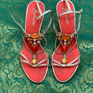 Marciano sandal Made with beads
